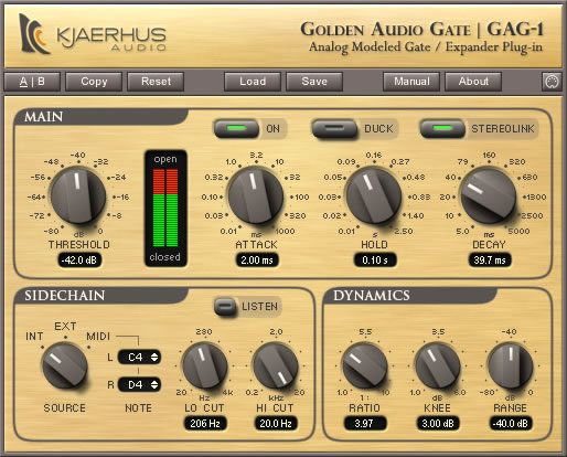 Golden Audio Gate | GAG-1