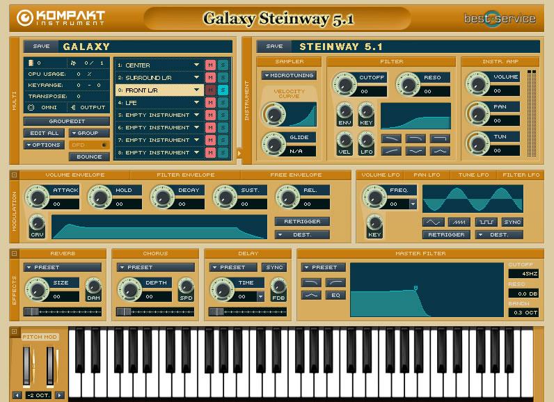 Galaxy Steinway 5.1