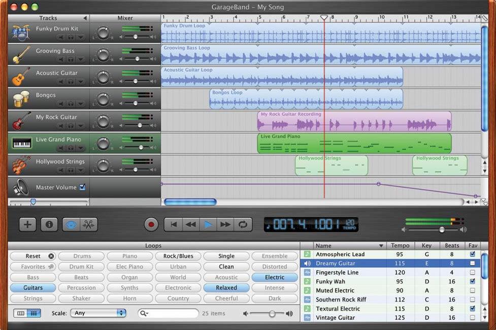Kvr Garageband By Apple Sequencer Multitrack