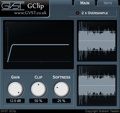 KVR: GClip by GVST - Lo-Fi VST Plugin