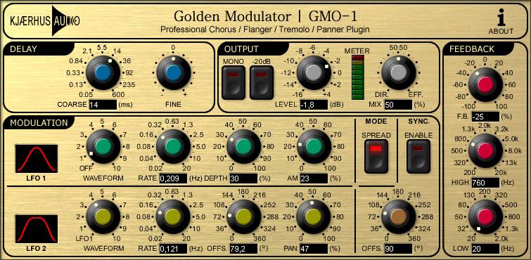 Golden Modulator | GMO-1