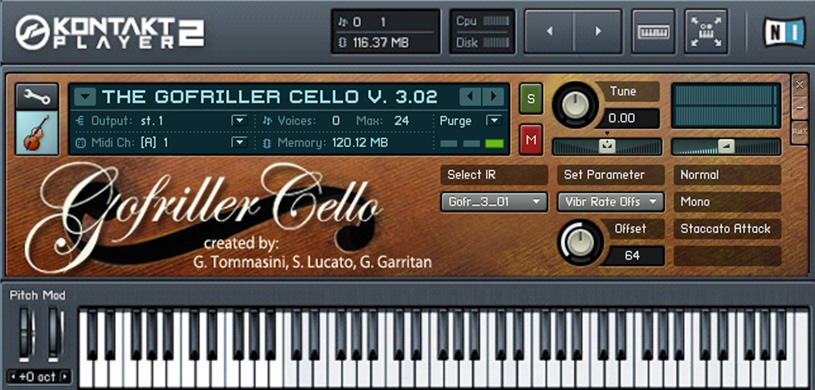 Gofriller Solo Cello