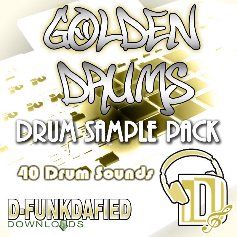 Golden Drums (Drum Kit Sample Pack)