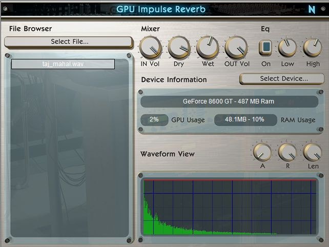 GPU Impulse Reverb