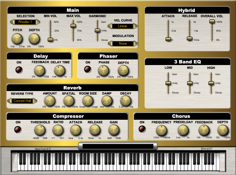 KVR: Sound Magic releases GrandEpiano - Hybrid Electric