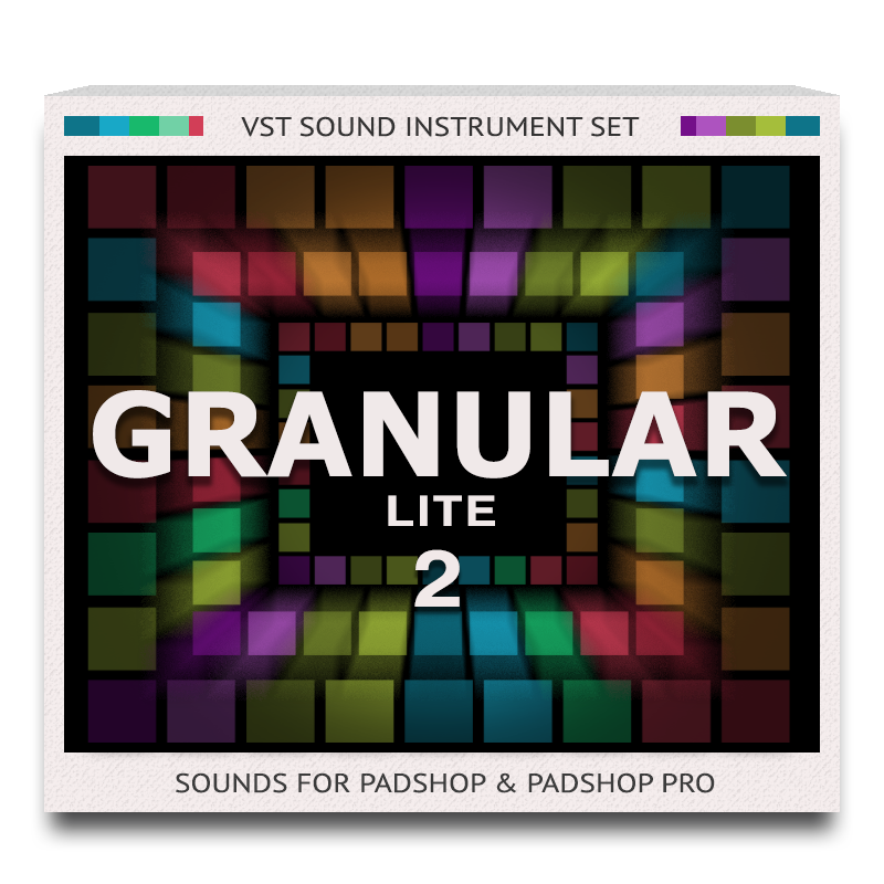 Granular Lite 2 Sound Set for PadShop and PadShop Pro