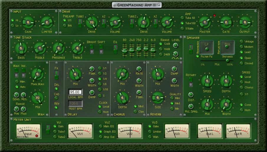 GreenMachine Amp II