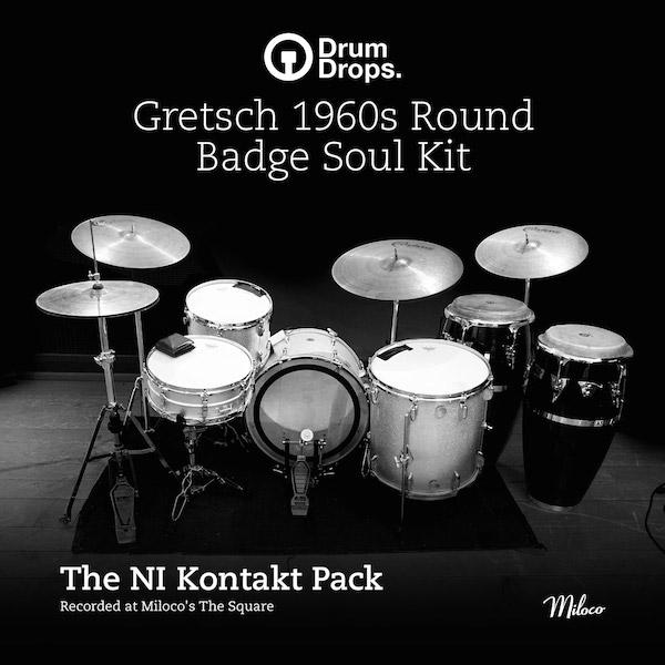 Gretsch 1960s Round Badge Soul Kit - Kontakt 5 Pack