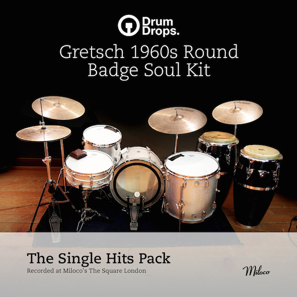 Gretsch 1960s Round Badge Soul Kit - Single Hits Pack