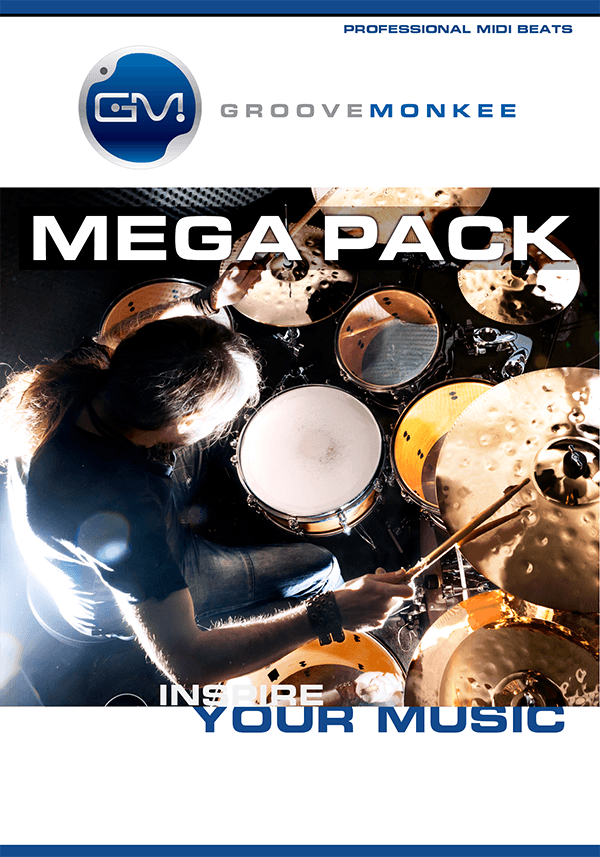 KVR: Mega Pack by Groove Monkee - MIDI Drum Grooves