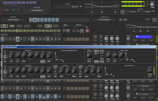 Groove Drum Synth