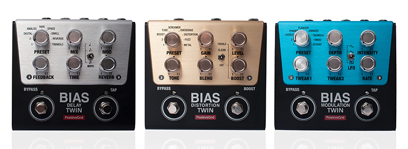 Last Chance to Enter to Win One of Three BIAS Twin Pedals from Positive Grid