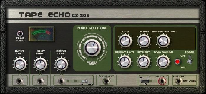 Tape Echo GS-201