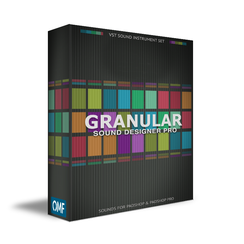 Granular Sound Designer Pro Set for PadShop and PadShop Pro