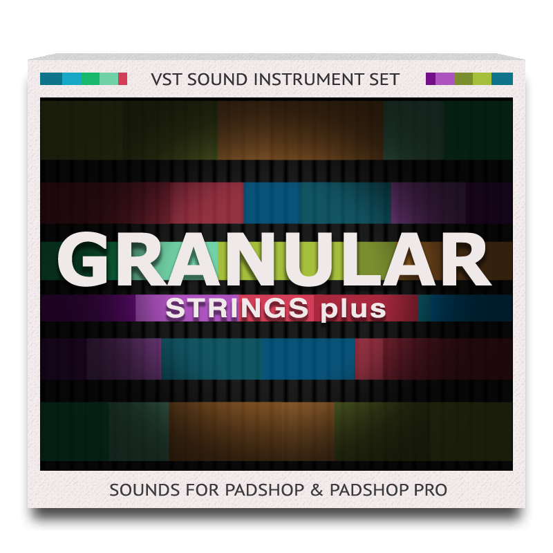 Granular Strings plus for PadShop and PadShop Pro