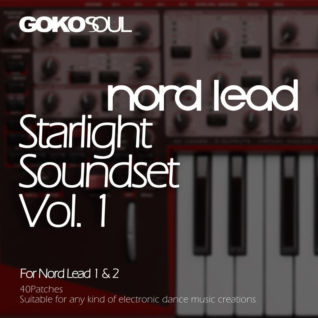 Starlight Vol.1 / Discovery / Pro / Nord Lead 2 / 2X sound bank