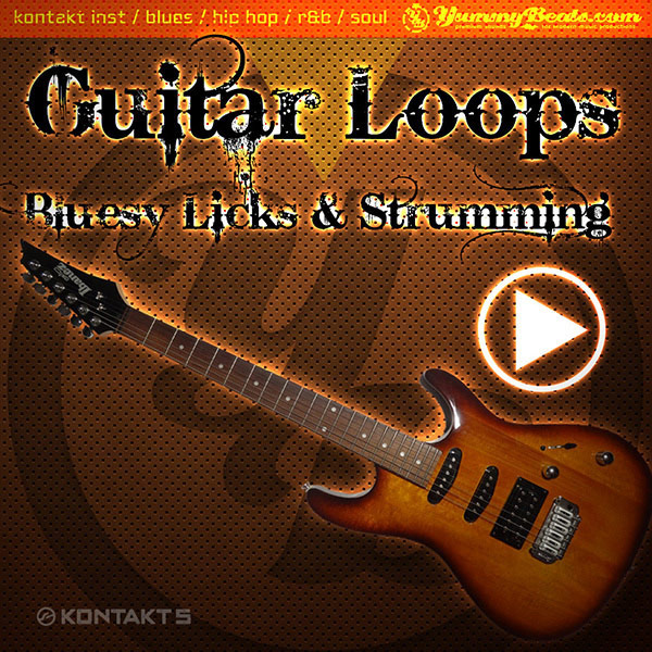 Bluesy Guitar Loops (Licks & Strumming)