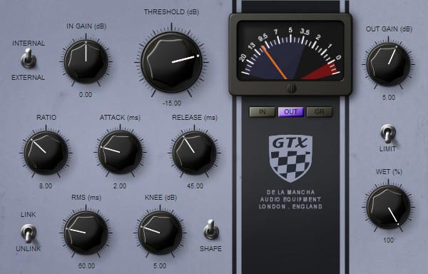 KVR: GTX by de la Mancha - Dynamics (Compressor / Limiter) VST Plugin
