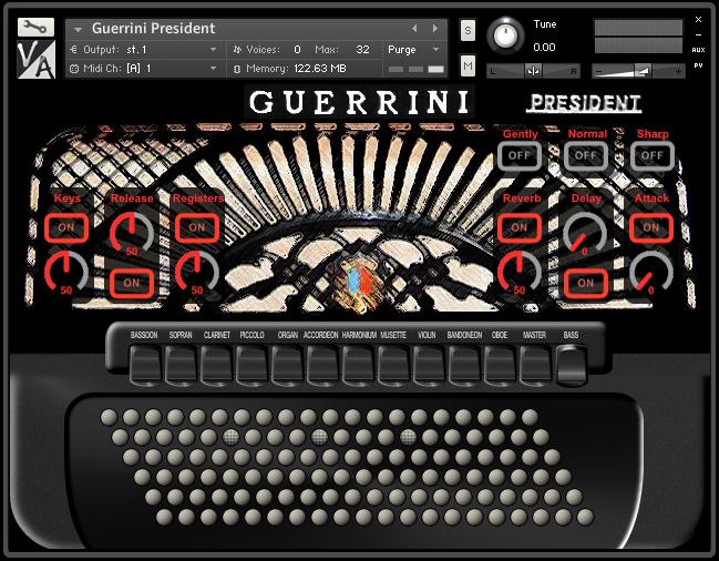 скачать guerrini professional 4 accordion торрент