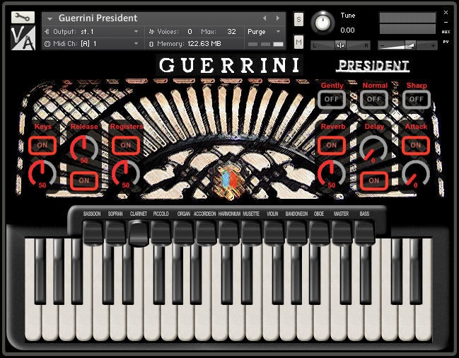 KVR: Guerrini President by Virtual Acoustic - Accordion VST