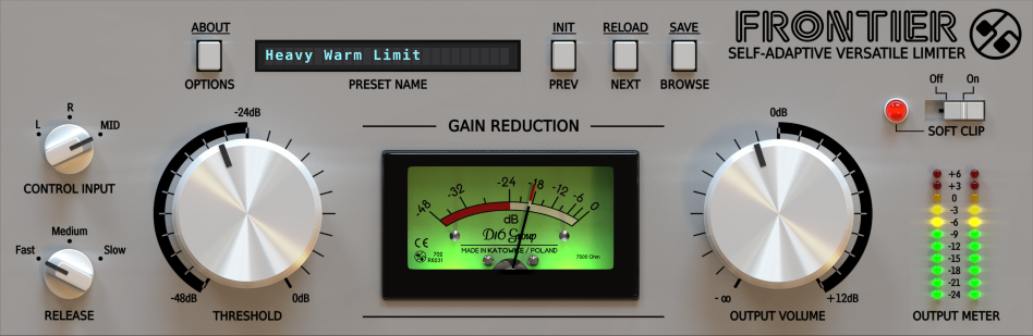 KVR: Frontier by D16 Group - Limiter VST Plugin, Audio Units