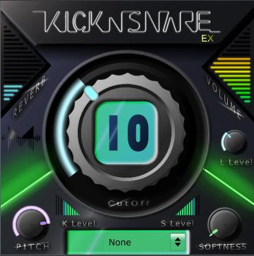 KVR: Kick-n-Snare EX by Minimal Instruments - Drum Groove