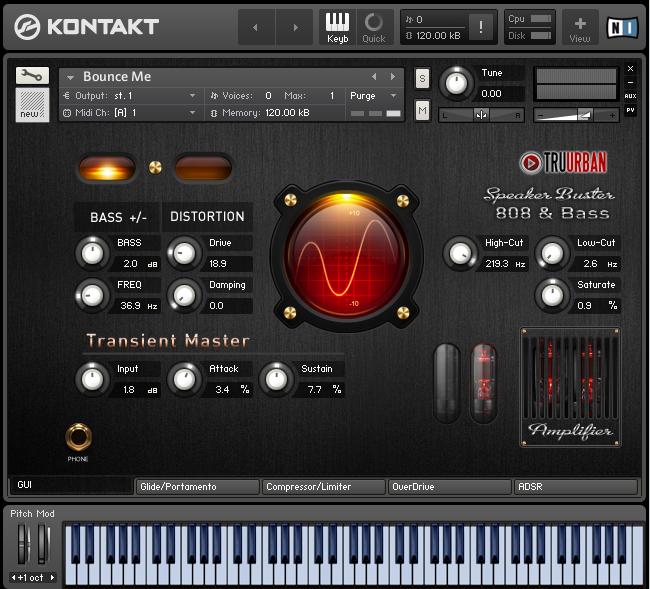 Speaker Buster 808 & Synth Bass Module for Kontakt