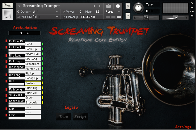 KVR: Screaming Trumpet by Realitone - Trumpet