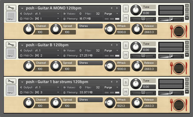 Performance loops acoustic guitars download