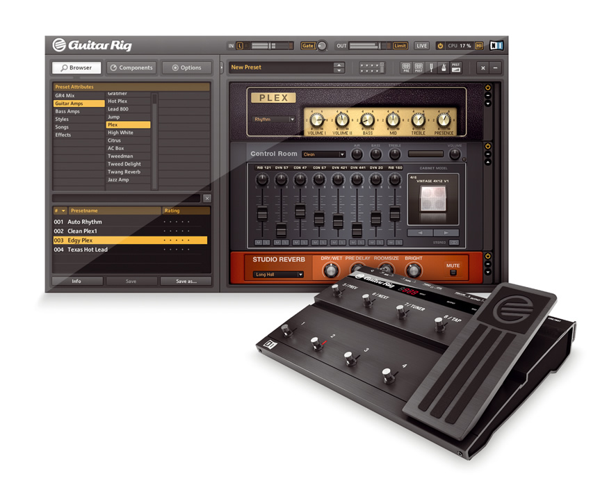 Guitar RIG 4 - gitarski procesor - free download