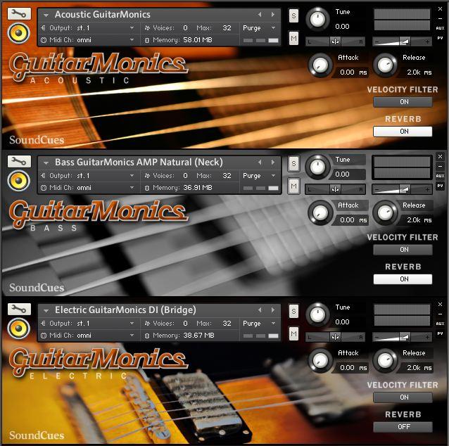 GuitarMonics Collection
