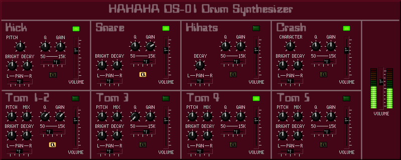 Hahaha DS-01 Drum Synthesizer