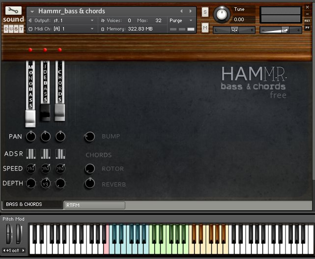 Hammr Bass & Chords