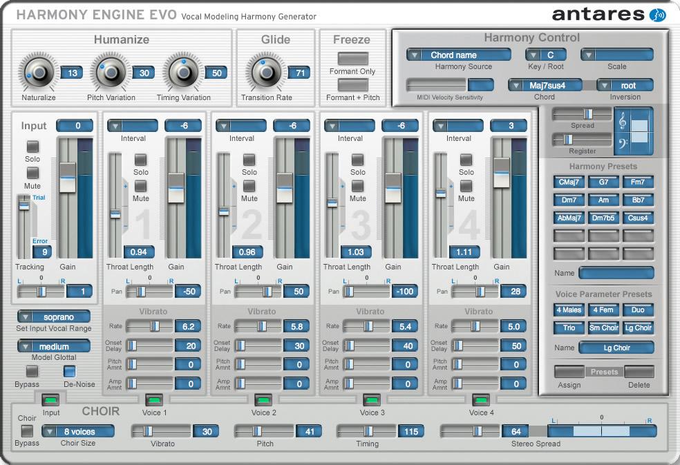 دانلود وی اس تی قدرتمند Antares Harmony Engine
