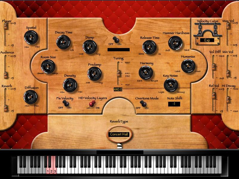 Hybrid Harpsichord