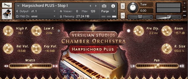 VS Harpsichord