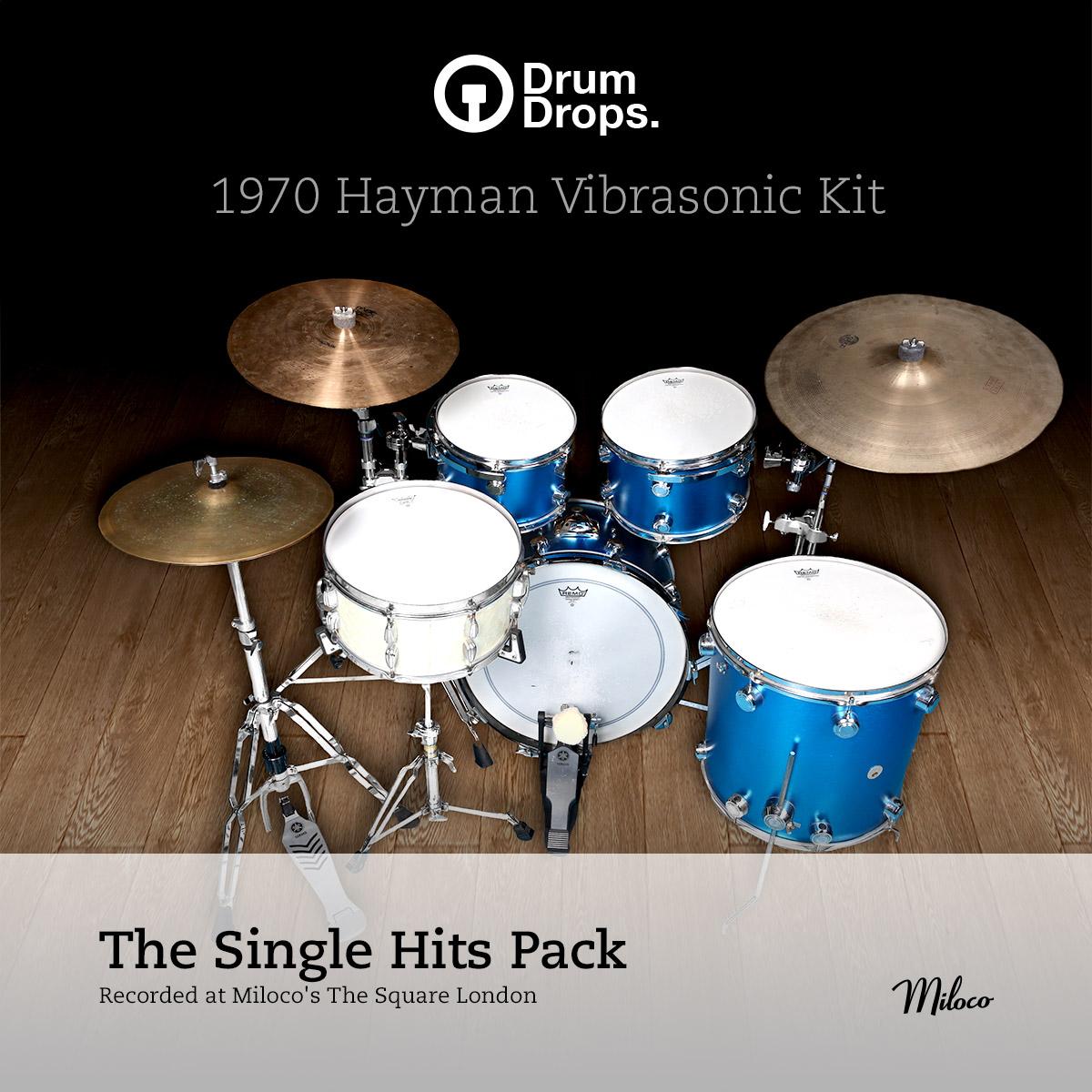 1970s Hayman Vibrasonic kit - Single Hits Pack