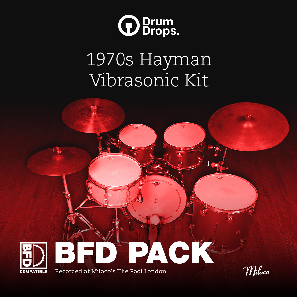 1970s Hayman Vibrasonic kit - BFD Pack