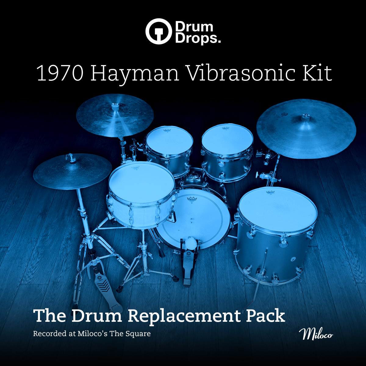 1970s Hayman Vibrasonic kit - Drum Replacement Pack