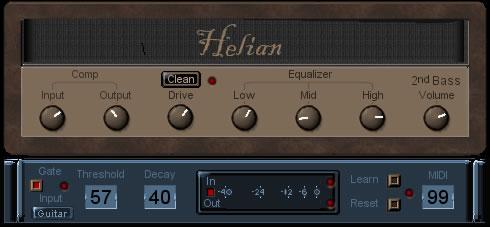Helian 2nd Bass
