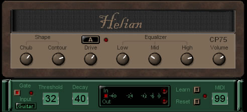 KVR: Helian CP75 by Fretted Synth Audio - Distortion