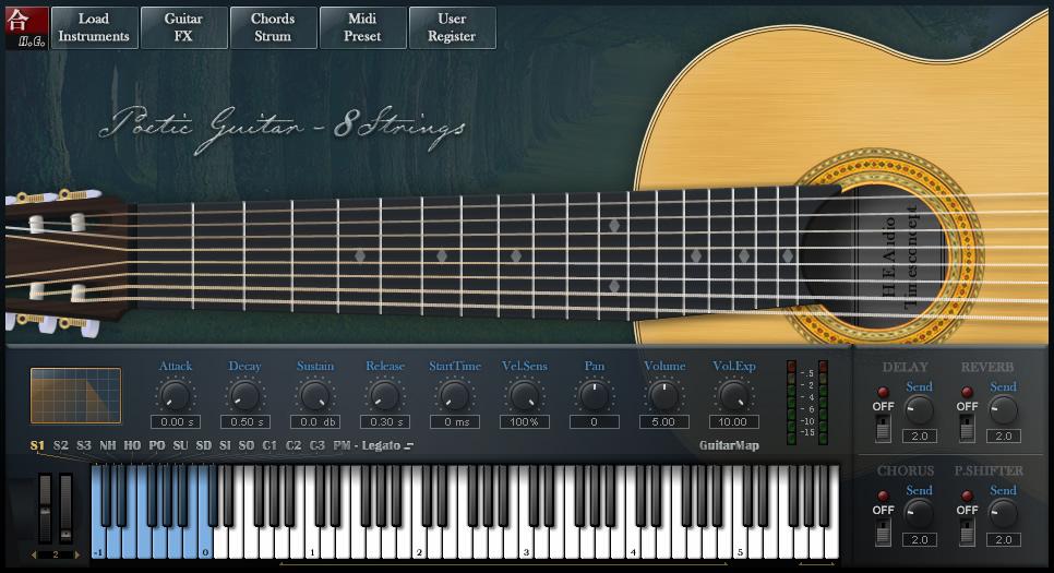 Kvr H E Audio Releases Poetic Guitar 8 Strings V1 0