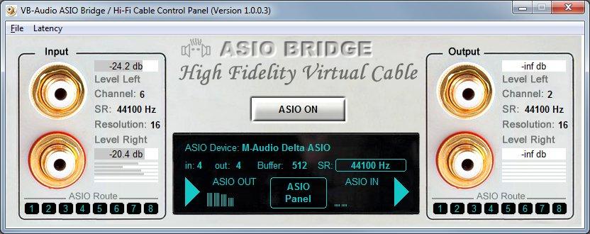 KVR: VB-Audio Software updates ASIO-Bridge to v1 0 0 3