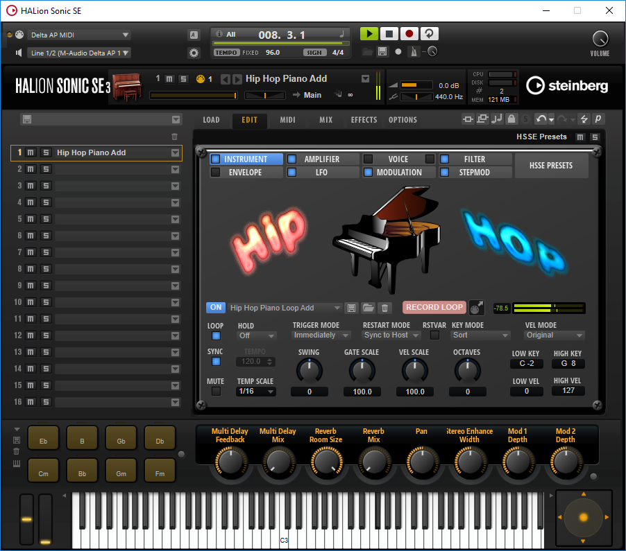 KVR: Hip Hop Piano by Freemusicproduction net - Pianos VST