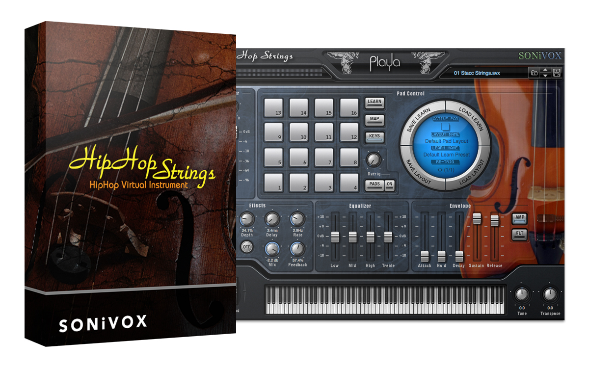 kvr playa hip hop strings by sonivox strings orchestral vst plugin audio units plugin. Black Bedroom Furniture Sets. Home Design Ideas