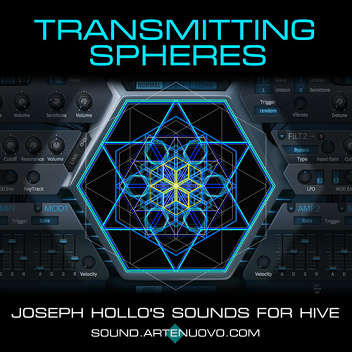 Transmitting Spheres soundset for Hive