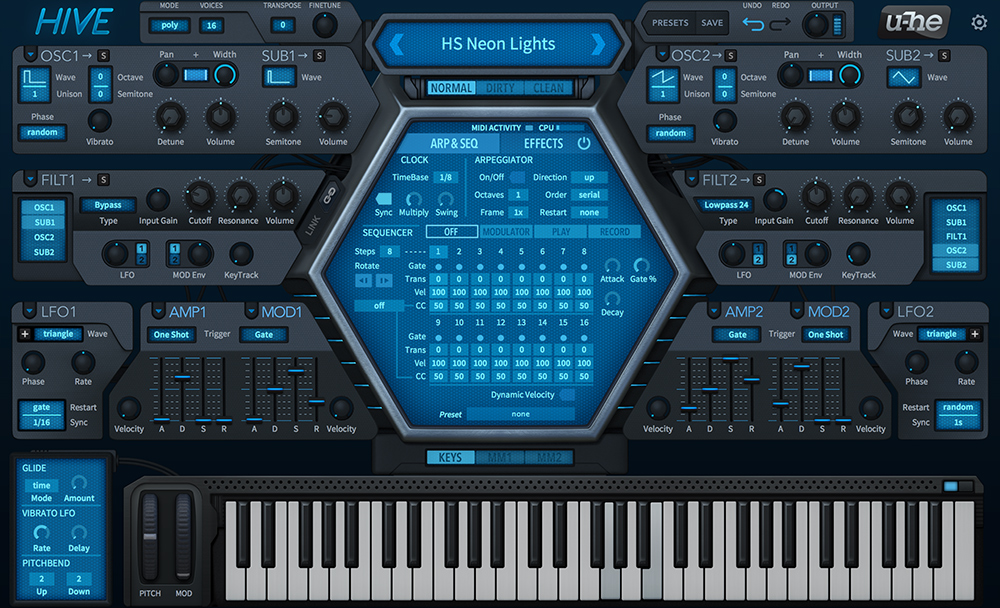 Kvr Hive By U He Lead Synth Vst Plugin Audio Units