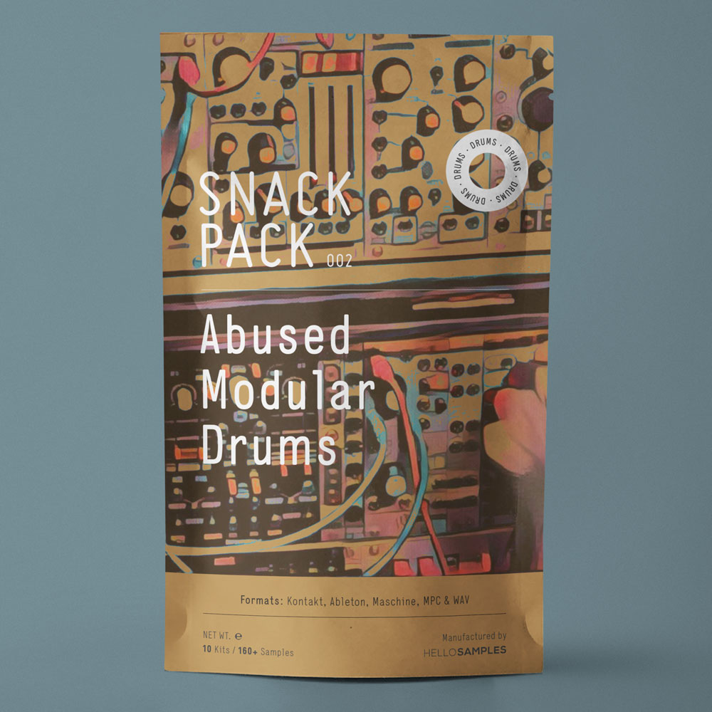 Snack Pack 002: Abused Modular Drums