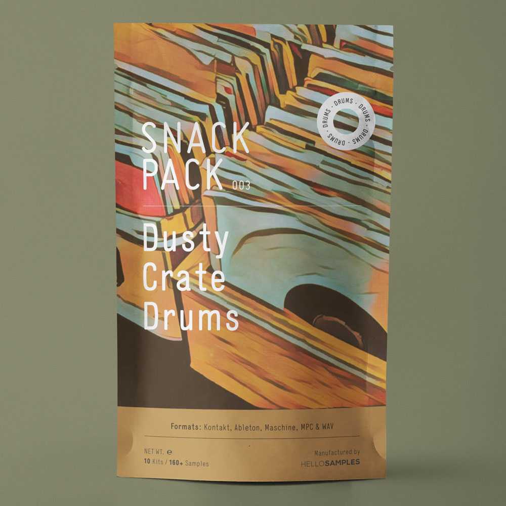 Snack Pack 003: Dusty Crate Drums