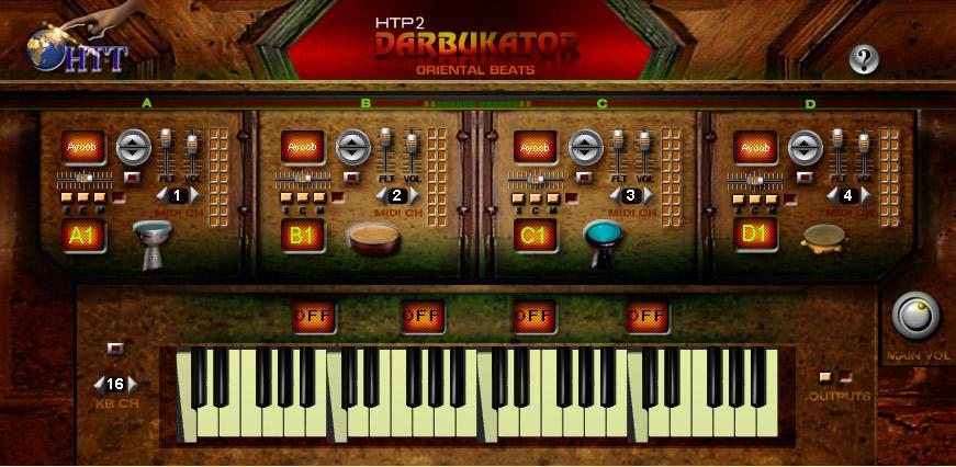 HTP2 Darbukator Oriental Beats